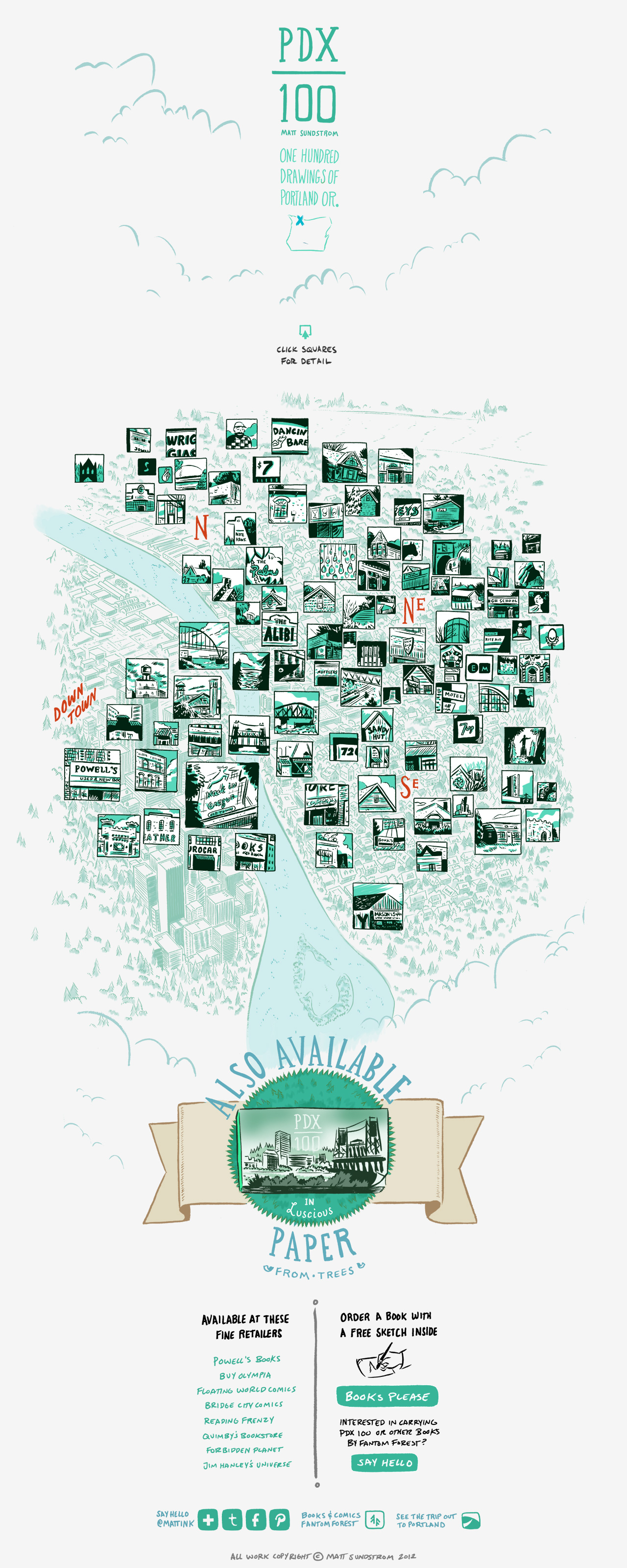 Map of Portland